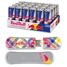 Red Bull 24pack 8.4oz Original Energy Drink & 8GB Yellow Plaid USB SnowDrive - http://www.handygrocery.com/grocery-gourmet-food/beverages/energy-drinks/red-bull-24pack-84oz-original-energy-drink-8gb-yellow-plaid-usb-snowdrive-com/