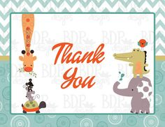 Yoo-Hoo Thank You Card