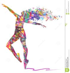 abstract-silhouette-dancer-musical-notes-white-background-44576319.jpg (1261×1300)