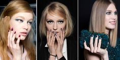 Autumn/Winter 2014 nail trends - colours in fashion AW14