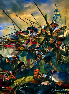 Imperial Tercios in battle, Thirty Years War