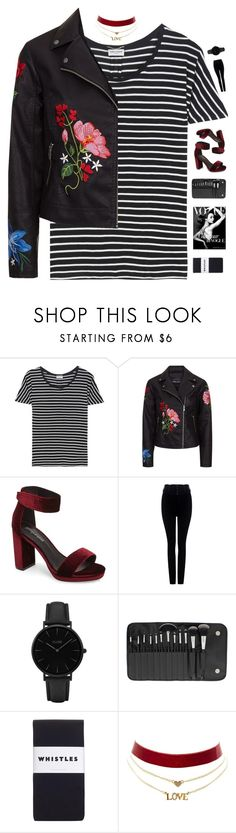 """""""Nothing"""" by genesis129 on Polyvore featuring Yves Saint Laurent, Jeffrey Campbell, Citizens of Humanity, CLUSE, BHCosmetics, Whistles and Charlotte Russe"""