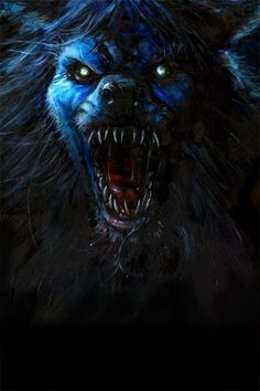 A werewolf, also known as a lycanthrope is a mythological or folkloric human with the ability to shapeshift into a wolf or an anthropomorphic wolf-like creature, either purposely or after being placed under a curse and/or lycanthropic affliction via a bite or scratch from a werewolf, or some other means. This transformation is often associated with the appearance of the full moon.