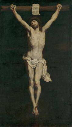 Cristo crucificado - Colección - Museo Nacional del Prado