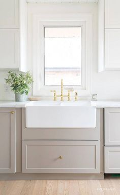 See how a designer transformed an outdated kitchen using IKEA cabinets customized by Semihandmade. See how a designer transformed an outdated kitchen using IKEA cabinets customized by Semihandmade. Refacing Kitchen Cabinets, Ikea Cabinets, White Kitchen Cabinets, Kitchen Cupboard, Kitchen Counters, Soapstone Kitchen, Kitchen Cabinets Designs, Kitchen Sink, Grey Ikea Kitchen