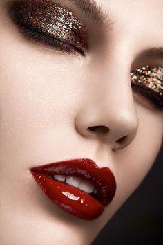 Creative make up up High Fashion Makeup, Sexy Makeup, Lip Makeup, Beauty Makeup, Oriflame Cosmetics, Beauty Shoot, Beauty Portrait, Glossy Lips, Beautiful Lips