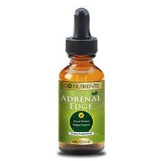 Adrenal Fatigue Support Supplement – Formula for Stress and Exhaustion – In Liquid Drops for Easy Absorption – 2 Oz Bottle – Adrenal Edge