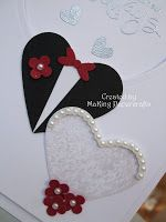 My daughter asked me to make a wedding card about 4 days before the wedding so I. My daughter asked me to make a wedding card about 4 days before the wedding so I resorted to the old favourite - hearts . Valentine Crafts, Valentines, Invitation Cards, Wedding Invitations, Wedding Shower Cards, Card Wedding, Wedding Cards Handmade, Wedding Anniversary Cards, Congratulations Card