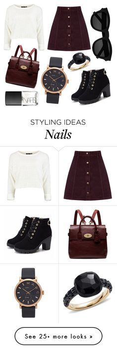 """""""Untitled #14"""" by alexmoore55 on Polyvore featuring Pomellato, Oasis, Mulberry, Yves Saint Laurent, NARS Cosmetics and Marc Jacobs"""