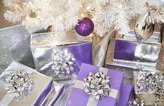 Decoração Lilás de Natal