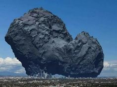 Now You Can Truly Appreciate the Size of Comet Churymov-Gerasimenko
