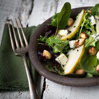 Salade de poires et bleu d' Alsace - Marie Claire Idées