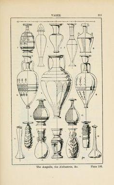 A handbook of ornament; vases the ampulls , the alabastron &c pg 313