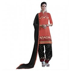 Embroidery unstitched salwar suit