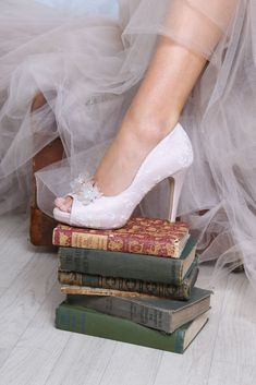 Wedding shoes from Gatehouse Brides in Worcester - Perfect Bridal Celia Blush with Damson Bridal Shoes, Wedding Shoes, Absolutely Gorgeous, Beautiful, Bridal Boutique, Bridal Accessories, On Shoes, Hair Band, Wedding Designs