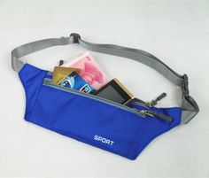Waist Bag Fanny Pack My Mommy Votes Pouch Running Belt Travel Pocket Outdoor Sports