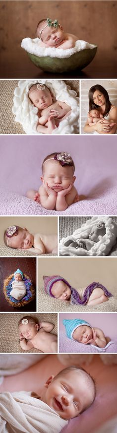 Spring Newborn Photographer - Capture the Dance Photography Natural light baby pictures using props, bowls, blankets, mom with child