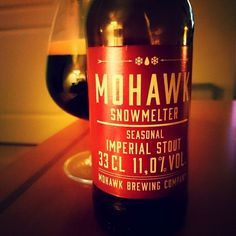Mohawk Snowmelter a Russian Imperial Stout from Mohawk Brewery. This is one of the best RIS i had in a long time.  Well done @mohawkbrewer  #beer #loveinabottle #mohawk #swedishbeer #tryityoulikeit #christmasbeer