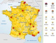 Les grandes agglomérations françaises