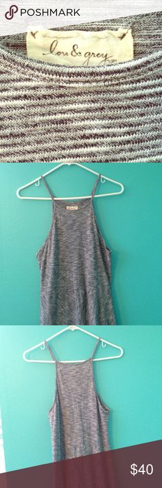 Lou & Grey maxi dress Very soft knit material; worn 4 times; great condition Lou & Grey Dresses Maxi