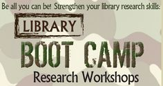 NSU Library Boot Camp