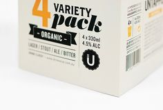 Untapped #Beer Boutique #Packaging #Typography