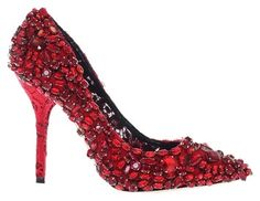 Dolce&Gabbana Runway Crystal Eu38 / Us7.5 Red Pumps. Get the must-have pumps of this season! These Dolce&Gabbana Runway Crystal Eu38 / Us7.5 Red Pumps are a top 10 member favorite on Tradesy. Save on yours before they're sold out!