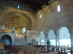 LOMBARDÍA Y LLANURA DEL PO Galliano , interno della basilica San Vincenzo
