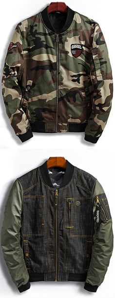 Up to 80% OFF!  Patch Design Camouflage Bomber Jacket. Zaful, zaful shop, tops, mens top,men fashion,man hoodies, mens hoodies, man sweatshirts, man tops, man hoodies casual, man outfits, hoodies men swag, hoodies men pullover, jackets men, t-shirts,mens shirts,long sleeve t shirts,v neck t shirts, denim jacket, winter outfits,winter fashion,fall outfits,fall fashion, halloween costumes,halloween,halloween outfits,halloween tops,christmas,thanksgiving,gifts. @zaful Extra 10% OFF Code:ZF2017