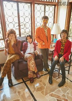 With their disco tracks and retro thrifted outfits, funk band IV of Spades is not the band you expected for this generation. Grease Outfits, King Of Spades, Funk Bands, Aesthetic Boy, Thrifting, Hipster, Retro, Unique, Nutella