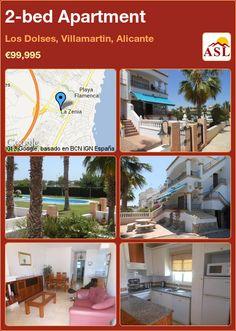 2-bed Apartment in Los Dolses, Villamartin, Alicante ►€99,995 #PropertyForSaleInSpain