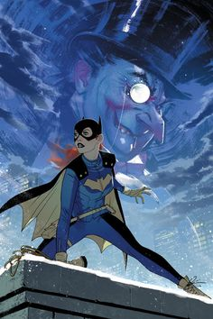 """""""Imagining a Batgirl animated series inspired by Joshua Middleton's covers"""""""