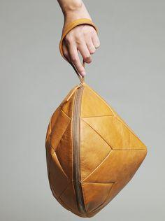 Regina Diamond - Wrist Bag by  Larissa Hadjio