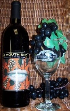 Stone's Throw Winery, Door County, Wisconsin - Big Mouth Red