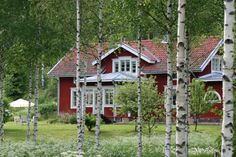 Strandhagen B&B is a private home open during the summer. Archipelago, B & B, Bed And Breakfast, Finland, Hotels, Shops, House Styles, Summer, Tents