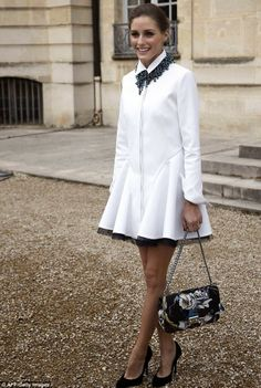 Paris Fashion Week 2014 : Olivia Palermo At Dior