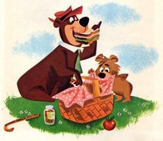 Hey Boo Boo! Where's the Pic-nic-a-basket?!!!