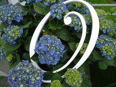 Hochzeitsdeko - Holzbuchstaben - ein Designerstück von abc_ABC bei DaWanda