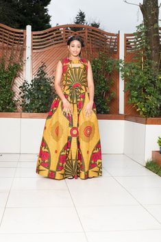 Mirka African Print Maxi Dress African Fashion Dresses, African Dress, African Fabric, Latest African Styles, Dresses For Sale, Summer Dresses, Maxi Dresses, Wedding Dress With Pockets, Dress Pockets
