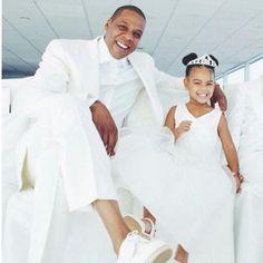 "Jay & Blue Ivy @grandmothers wedding ""Beyoncé mom"""