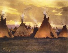 Native American Teepee, Native American Paintings, Native American Pictures, Native American Indians, Native Indian, Indian Art, American Indian Wars, Indian Teepee, Eskimo