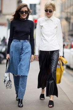 THE IMPRESSION'SMILAN WOMEN'SCOLLECTIONSTREETSTYLEFALL 2016 by Vincenzo Grillo |Imaxtree.com