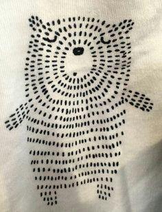 Druck & Muster - Stricken ist so einfach wie 3 Das Stricken läuft auf dre. Druck & Muster - Knitting is as easy as 3 Knitting boils down to three essential skills. Sashiko Embroidery, Japanese Embroidery, Embroidery Art, Cross Stitch Embroidery, Embroidery Designs, Simple Embroidery, Geometric Embroidery, Machine Embroidery Patterns, Modern Embroidery