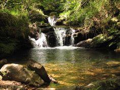 Cascadas de Lamiña en Barcenillas