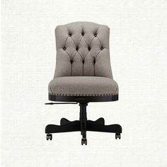 hooker furniture ec433010 larkin oat executive swivel tilt chair in beige hooker furniture chairs and ps - Tufted Desk Chair