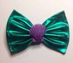 Little mermaid bow on Etsy, $7.00