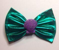 Little mermaid bow on Etsy, $7.00