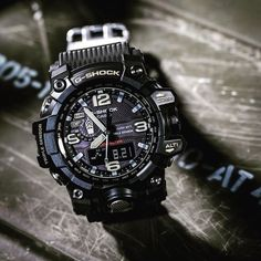 CASIO G-Shock affordable watches for men! G Shock Watches Mens, Big Watches, Stylish Watches, Sport Watches, Luxury Watches, Cool Watches, G Shock Mudmaster, G Shock Men, Burberry Men