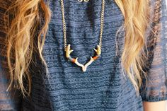 """Antler Necklace 