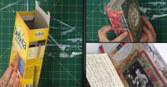 How To Turn Any box Into A Super Cute Journal